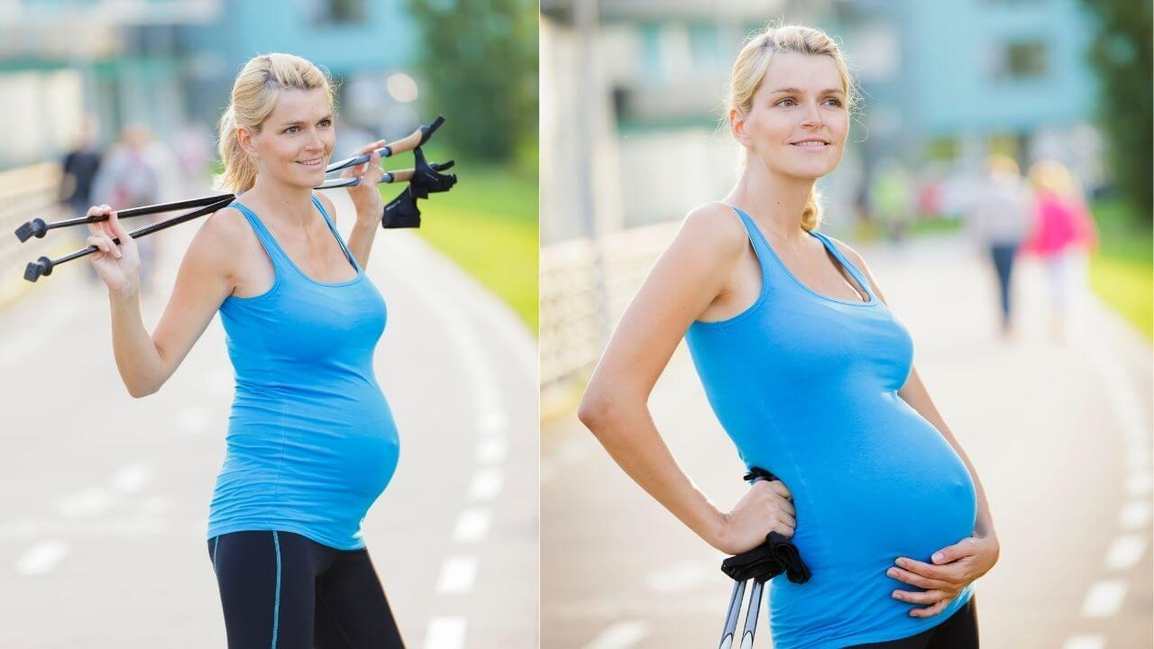 Nordic walking kismamák részére